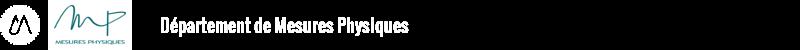Département de Mesures Physiques Logo